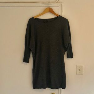 Cocoon tunic sweater dress
